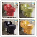 Förderung-einteilige WC-Toilette heiße Verkaufs-beste Auslegung-gesundheitliche Ware-amerikanische Mexiko-Peru (YB1005-Color)