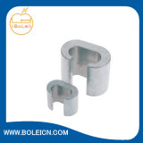 Copper estanhado C Clamp para Electric Power Wire Cables