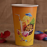 14oz de una sola pared jugo desechable tazas de papel