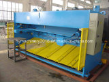 Машина гидровлической гильотины управлением QC11y-6X6000 Nc режа & автомат для резки стальной плиты