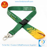 Wärme Transfer Printed Identifikation Card Holder Lanyard für Staff (KD-233)