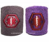 Wristband su ordinazione di sport del panno di alta qualità