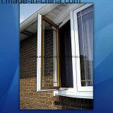 50 مزدوجة يزجّج زجاجيّة ألومنيوم قطاع جانبيّ شباك نافذة