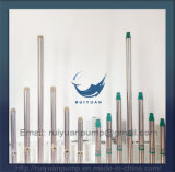 Pouces bon marché 0.37kw 0.5HP de câblage cuivre de la qualité 4 de pompe submersible de puits profond pour l'Iran