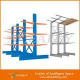 Сверхмощное Double Sided Cantilever Rack для Lumber