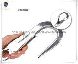 Gancho de leva de encargo del broche de presión del aluminio de la insignia de la impresión de los regalos promocionales