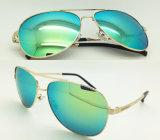Gafas de sol del metal de la buena calidad con la lente de Revo