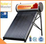 Calefatores de água quente solares compatos dos tubos de vidro da pressão