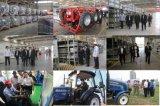 中国75HPの農場の車輪のトラクターの製造者