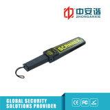 Détecteur de métaux tenu dans la main de garantie de haute précision d'ambassade avec l'alarme légère saine