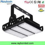 Schwarzes Waterproof 150W LED Tunnel Flood Light für Basement Lane