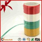 Coloridos al por mayor 250 yardas gran rollo de la cinta prensada para los globos