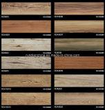 telha de assoalho de madeira 150*600 da grão do Inkjet 3D Rd16018