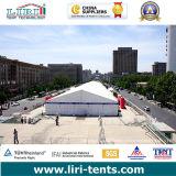 كبير معرض خيمة مع مقصورة, واضحة [سبن] يتاجر عرض خيمة مع حامل قفص