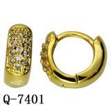 Oorringen van de Juwelen van het Koper van de Manier van de fabriek de In het groot