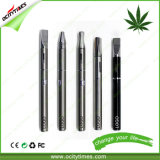 Ocitytimes O3 Stainless Steel Cbd Oil Cartridge E-Cigarette Kit con 300mAh Battery