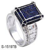 Sterlingsilber-Schmucksache-Diamant-Ring des Fabrik-Großverkauf-925