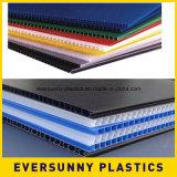 Цена по прейскуранту завода-изготовителя PP рекламируя рифлёный пластичный лист