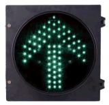 Pulgada 200m m de la flecha 8 del verde de la señal de la flecha del semáforo de la dirección