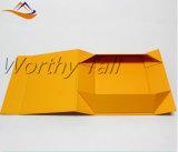 عادة إغلاق مغنطيسيّة [متّ] [فولدبل] ورق مقوّى [جفت بوإكس] مسطّحة يطوي صندوق من الورق المقوّى صندوق قابل للانهيار مغنطيسيّة