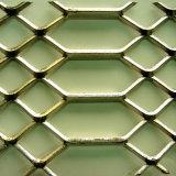 Tipo hoja del orificio de la diferencia de metal ampliada