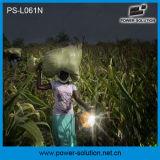Lanterna solare della soluzione 4500mAh/6V di potere con il caricatore del telefono per il campeggio o l'illuminazione di soccorso