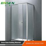 Алюминиевое приложение ливня раздвижной двери