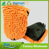 Multifuncional Chenille Coral Fleece Waterproof Car Wash Mitt
