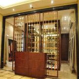 別のための贅沢な金属部屋ディバイダカラーステンレス鋼装飾的なスクリーン