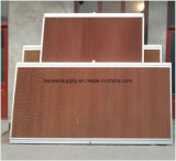 Almofada de papel refrigerar evaporativo da celulose para a oficina industrial