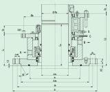 Kassetten-Kessel-mechanische Dichtung mit einzelnem Ende (HQM 481)