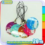 カスタマイズされた印刷MIFAREの標準的な1K札PVC RFID Keyfob
