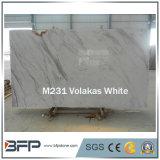 Importados losas de mármol blanco para encimeras de cocina, piso de azulejos, encimeras
