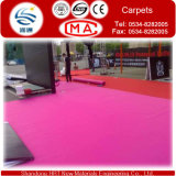 200-400G/M2 Waterproofing Outside Carpets para Exhibition e Wedding
