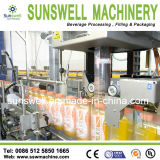 Ligne de remplissage à chaud de machine de jus de bouteille/jus et de thé