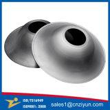 Kundenspezifische runde Metallhauben durch das spinnende Aufbereiten