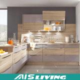 L mobília dos gabinetes de cozinha da cor do dobro do estilo (AIS-K277)