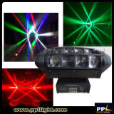 小型Size 8X10W RGBW 4in1 Stage Spider LED Moving Head Beam Light