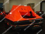 6 Type van Vrije tijd van het Jacht van de Reddingsboten van personen het Opblaasbare met Verpakking Valise of Solas een Container van het Pak