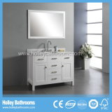 Dispersore a più strati della stanza da bagno di alta conclusione con due bacini e specchi (BV132W)