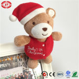 Noël Teddy Holiday Kids Gift Bear avec Clip Functional Toy