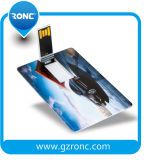 De slanke Aandrijving van de Pen van de Kaart, de Flits van de Creditcard USB van de Douane, 4GB 8GB 32GB de Aandrijving van de Flits van USB