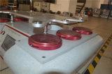 Gewebe Martindale Abrasor/Reibungs-Prüfvorrichtung HD-207-4 mit sechs Köpfen
