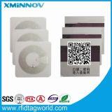 Anti étiquette Hy150012A de garantie de détection en métal de NFC