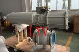 Valvola di gestione pneumatica della sfera d'acciaio del getto