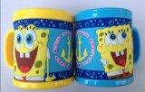 Qualität Plastic Cup Promotional 3D PVC Mug Cup (Mug-003)