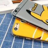 Het Mobiele Geval van de Telefoon TPU met het In reliëf gemaakte Schilderen Pokemon gaat