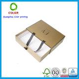 Rectángulo de papel del cajón con la maneta para el regalo