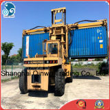 Container ForkliftまたはTruckのための28ton/Operation Hoisting Machinery Used小松Reach Stacker