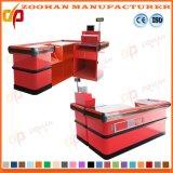 China-Supermarkt-Geld-Bargeld-Prüfungs-Kostenzähler-Kassierer-Schreibtisch-Großverkauf (Zhc50)